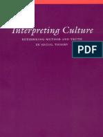 Interpreting Culture-Joseph Lewandowski