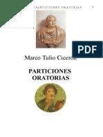 Particiones oratorias (español+latin) - CICERO