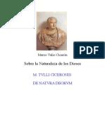 Sobre la naturaleza de los dioses (español+latin) - CICERO