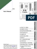 Abit AX78 Motherboard Manual