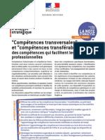 Compétences transversales et compétences transférables