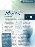 Malta Diving Special