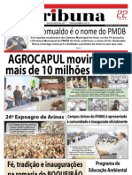 JORNAL TRIBUNA - EDIÇÃO 287 -  JULHO DE 2011 - UNAÍ-MG
