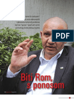 """""""Biti Rom, s ponosom"""" - Intervju s Dervom Sejdićem, predsjednikom Saveza Roma BiH"""