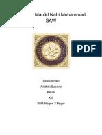 Laporan Maulid Nabi Muhammad SAW