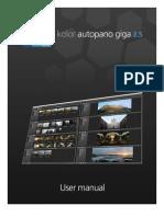Autopano Giga 2.5 User Manual