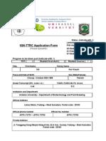Application Form Brawijaya-Unand Revision