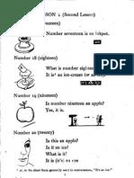 Antiguo manual de inglés-lección 2