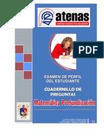 PRUEBA PERFIL MATEMÁTICA PROFUNDIZACIÓN 2010-2011 EDUARDO LASCANO¡