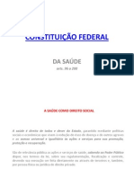 Consituicao Federal e Principios Ediretrizes Do Sus
