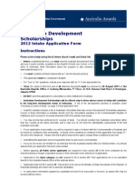Ads Application Form 2011