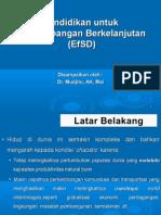 Pendidikan Untuk an Berkelanjutan (EfSD)