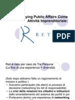 Il lobbying e Public Affairs come attività  imprend luglio 2007 r