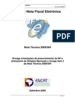 NT 2009.004 - SIMPLES NACIONAL