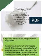 KAEDAH FONETIK