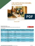 Relación y Tarifas de Hoteles  en Cozumel-OK (1)