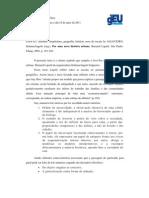 Fichamento Lepetit