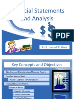 Financial Statements and Analysis