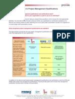 PM Qualifications Matrix -Important