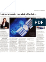 Los secretos del mundo inalámbrico -  El Mercurio - 04.09.2003