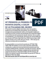 Business Vzla_ HP Presenta Primera Rotativa a Color