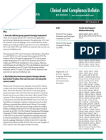 Evergreen Rehab Clinical Compliance Bulletin Q3