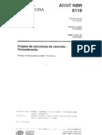 NBR 6118 - 2004 - Projeto de Estrutura de Concreto
