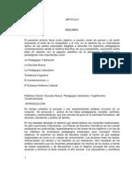 ARTICULO CORRIENTES CONTEMPORANEAS