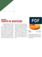 Tiempos de Adaptacion Revista Gerente