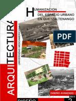 Humanizacion Del Espacio Urbano en Quetzaltenango