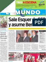 Portada El Mundo de Córdoba Lunes 4 de julio de 2011