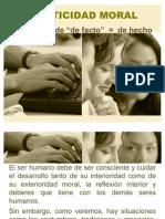 1-6 La Facticidad Moral