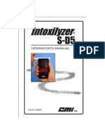 Intoxilyzer S-D5 Manual
