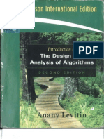 Introduction to the Design & Analysis of Algorithms 2ND Edition by Anany Levitin