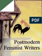 Postmodern Feminist Writers