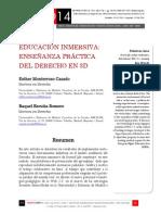 Icono14. A9/V2. Educación inmersiva