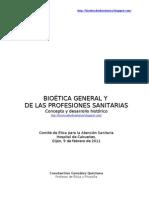 Ética médica y bioética-Cabueñes 2011