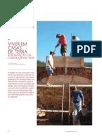 VIVER EM CASAS DE TERRA  -  A REINVENÇÃO DA CONSTRUÇÃO EM TAIPA