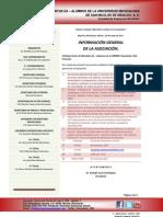 1 - datos generales de la asociación
