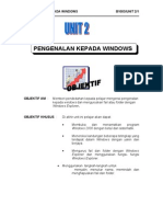 Unit 2 ( pengenalan kpd windows )
