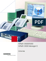 HiPath 3000 Manager Manual