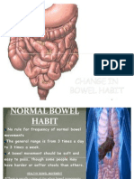 Change in Bowel Habit-last