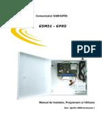 Manual Utilizare Comunicator Gsm Gprs