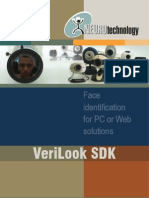 VeriLook SDK Brochure 2011-04-21