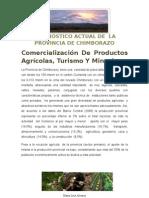 DIAGNÓSTICO ACTUAL DE  LA PROVINCIA DE CHIMBORAZO