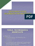Photoshop Techniques and Shortcuts