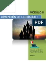 Dimensión de Liderazgo IBL