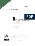 La seguridad en el trabajo, conceptos, objetivos y campo de acción