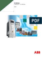 ACS550 Technical Catalogue REV J En