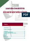 Estudio Mercado Vino Sector Turistico Canarias